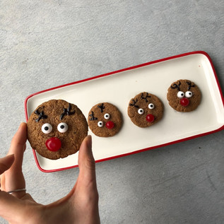 Crispy Almond Butter Cookies
