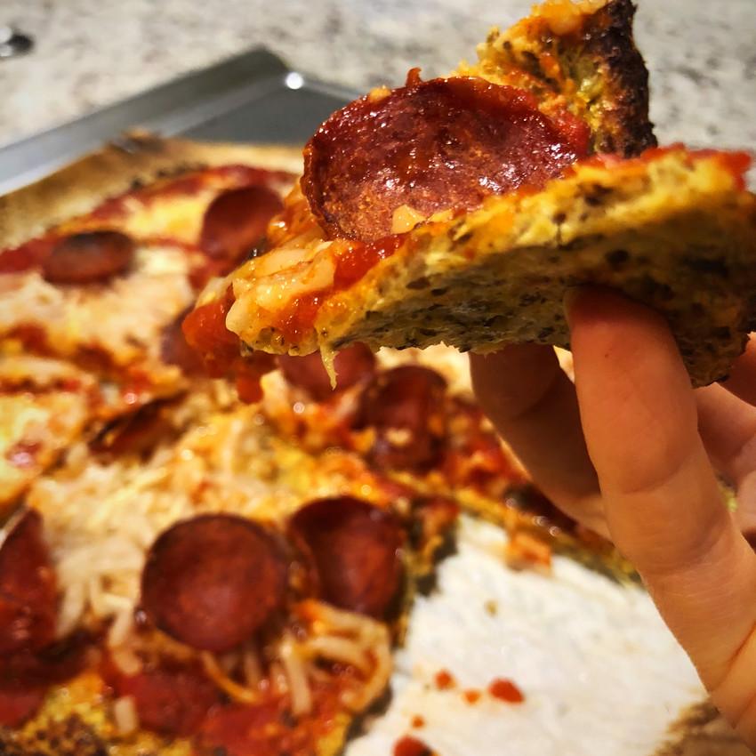 """Pickupable"" Pizza"
