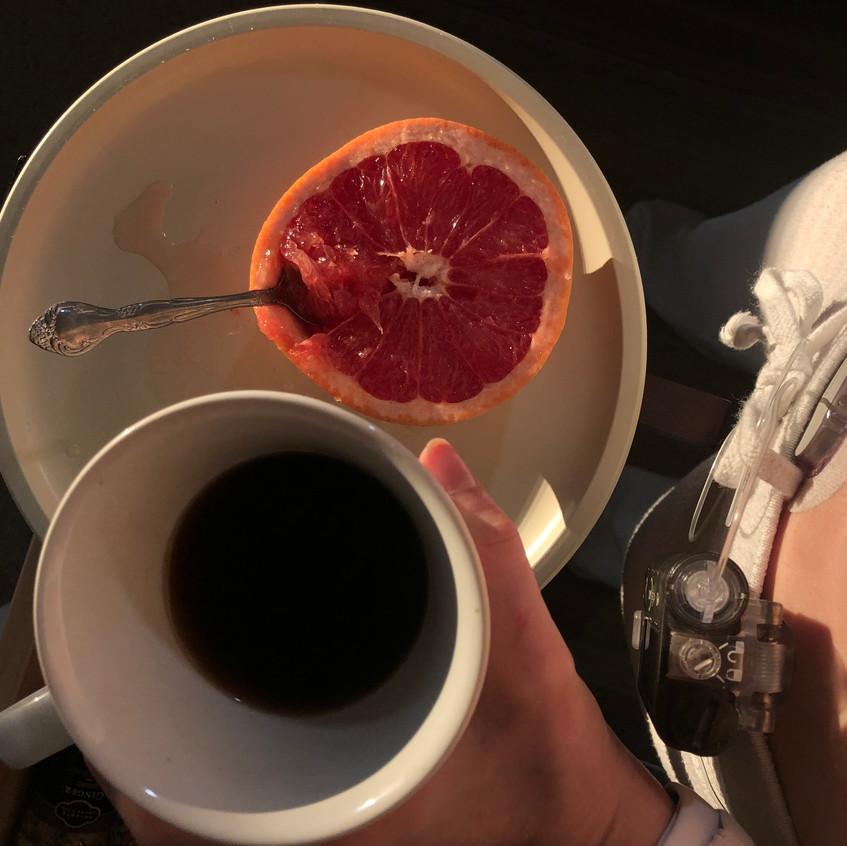 Mid morning snack