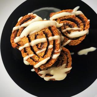 Cinnamon Spinwheels: sugar free/Low carb