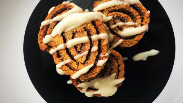 Cinnamon Spinwheels: sugar free/Low carb