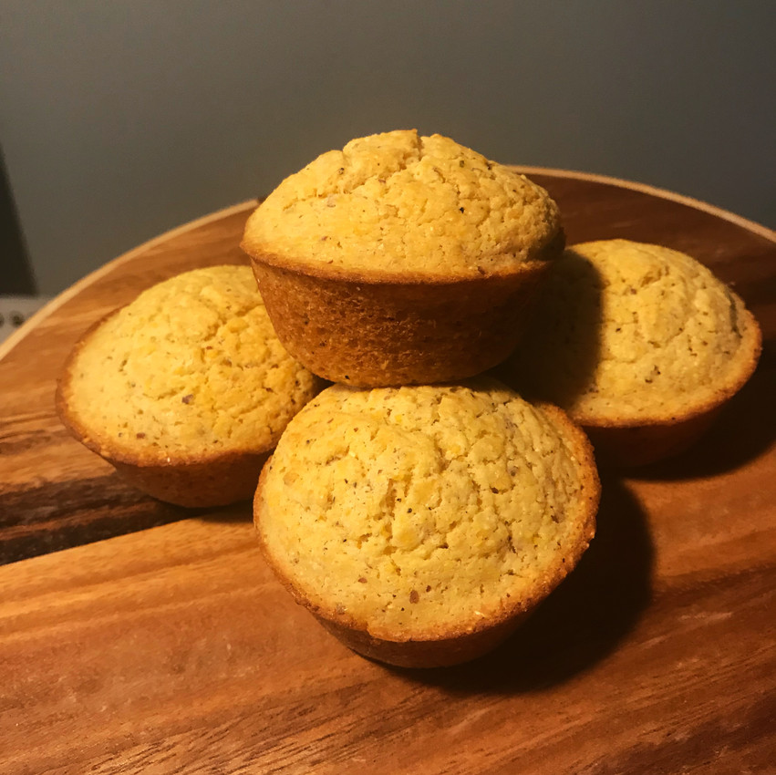 Makes 12 muffins