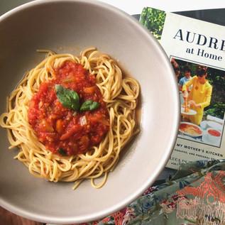 Audrey Heburn's Spaghetti Recipe