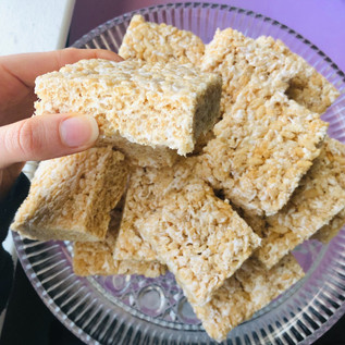 Healthier Crispy Rice Treat