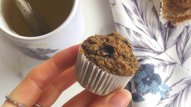 Wild Blueberry Mini Muffins