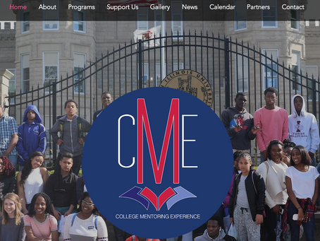 NEW COLLEGE MENTORING EXPERIENCE WEBSITE