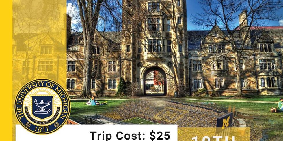 Visit to The University Of Michigan
