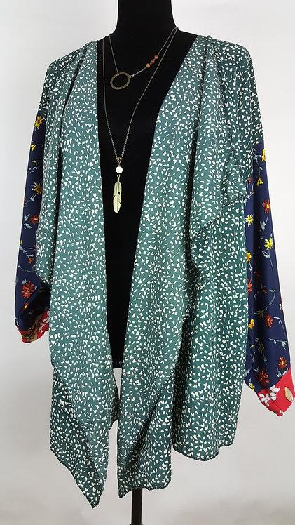 Hip Chick Design Up-cycled Kimono