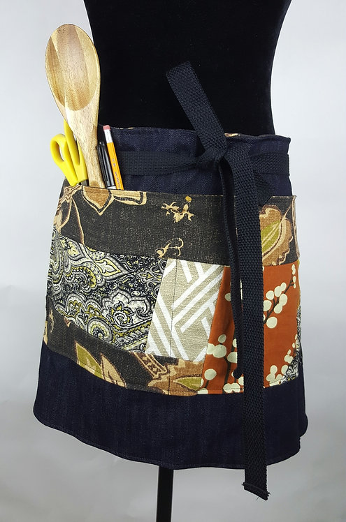 Hip Chick Design Up-cycled  Apron