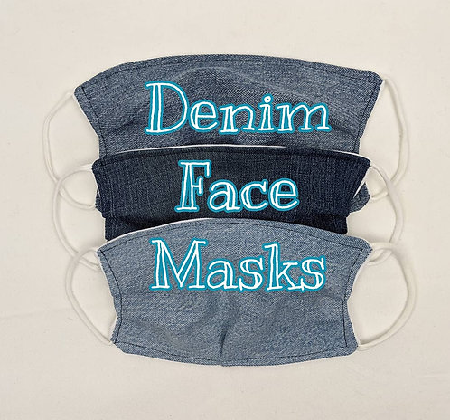 Woman's Denim Face Mask