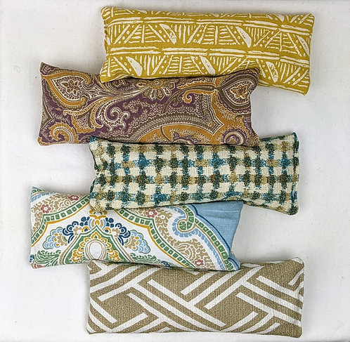 Flax and Lavender Eye Pillow