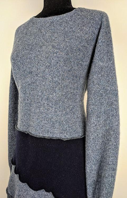 Hip Chick Design Original Wool Upcycled Dress