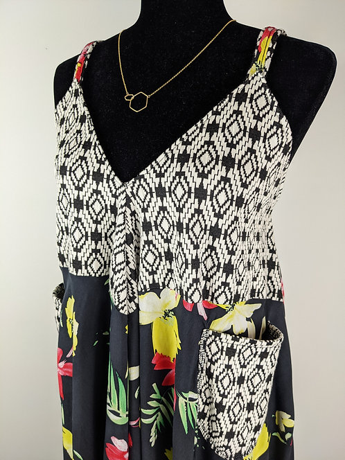 Hip Chick Design Scarf Dress