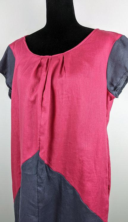 Hip Chick Design Linen Shift Dress