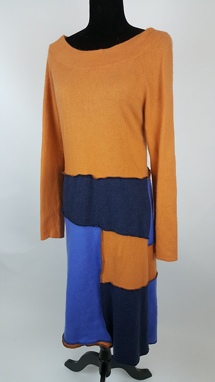 Hip Chick Design Original Wool Up-cycled Dress