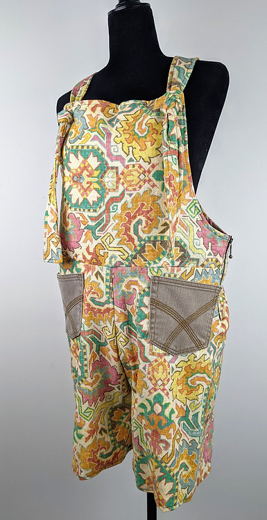 Hip Chick Design Overall Shorts