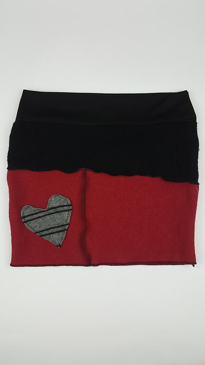Hip Chick Design Valentines Up-cycled Bum Warmer