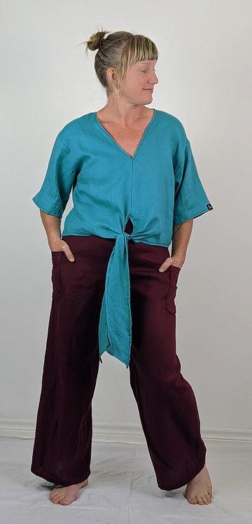 Hip Chick Design Linen Pants