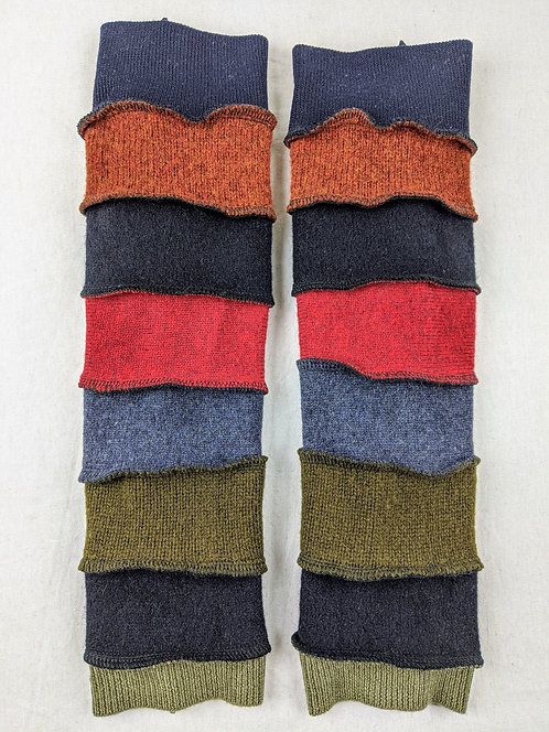 Hip Chick Design Up-cycled Legwarmers