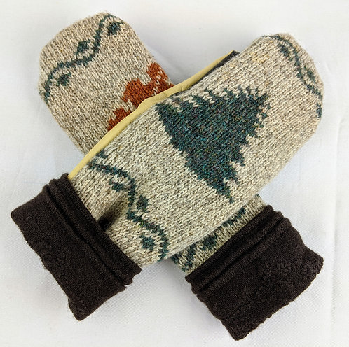 Hip Chick Design Up-cycled Mitts