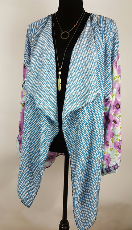 Hip Chick Design Up-cycled Kimono