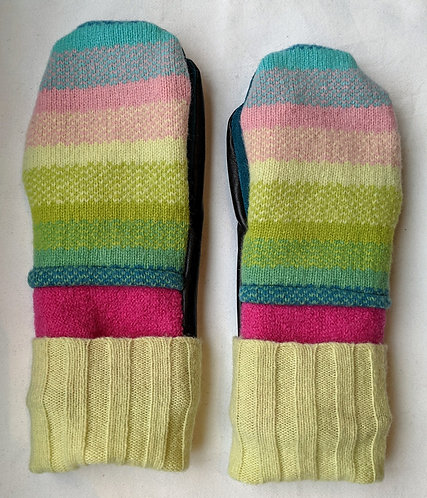 Hip Chick Design Upcycled Mitts