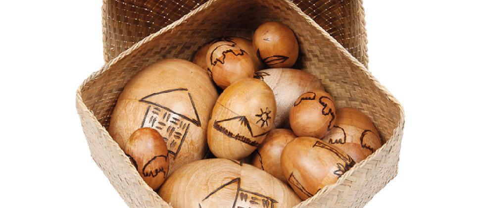 Assorted Egg Basket (12)