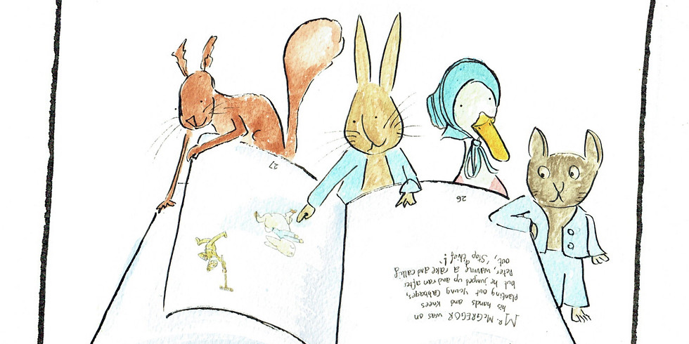 Zoom - Peter Rabbit and friends - Musical Tale