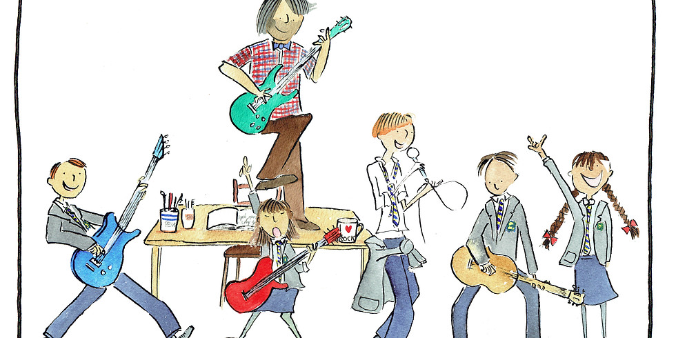 4 Day Music Camp: School of Rock