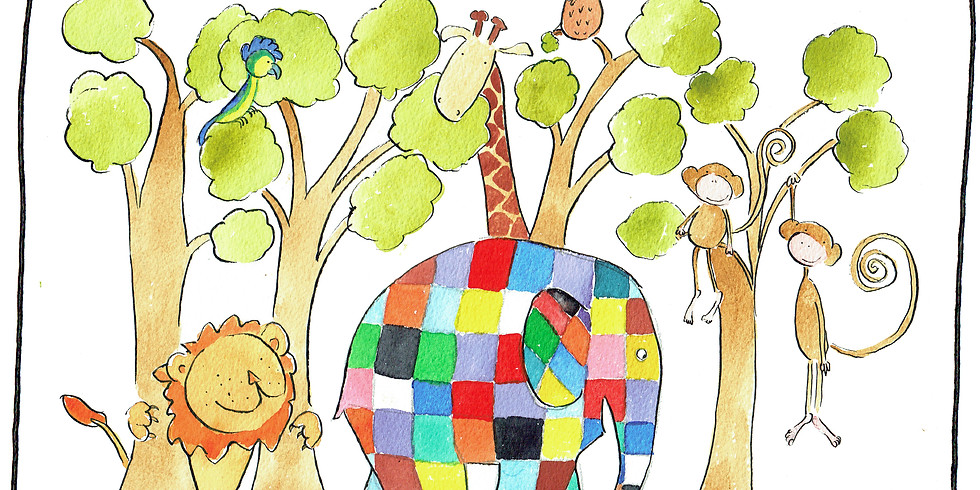 Musical Storytelling: Elmer The Patchwork Elephant