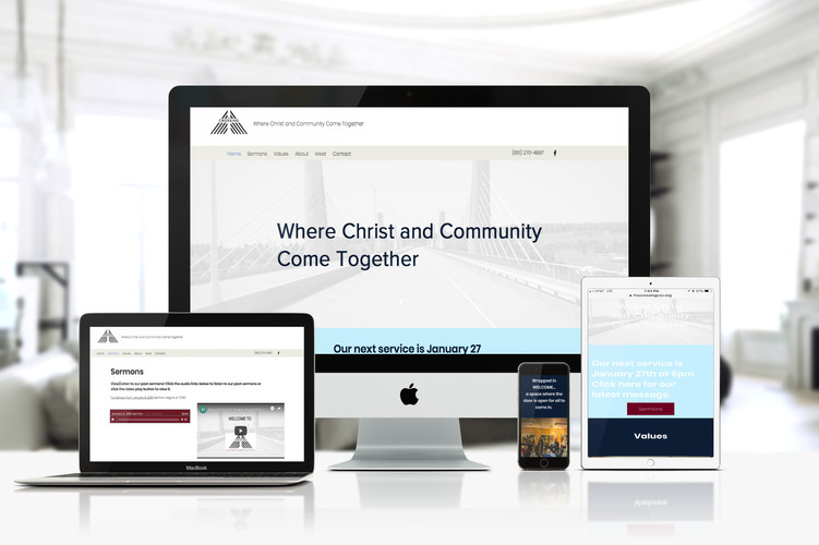 We 'rescued' our client - a church in Wisconsin - from an overpriced, underperforming and half finished wordpress site and create this page within 2 weeks - just in time for their official start.