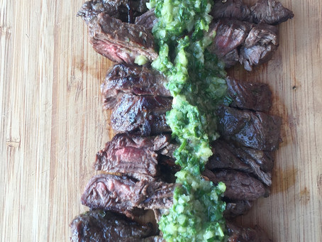 Marinated Flank Steak with Chimichurri Sauce | Fresh is Best