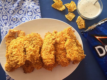 Doritos Crusted Chicken Tenders | Change Things Up
