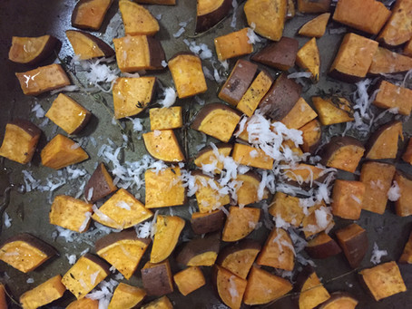Coconut Roasted Sweet Potato | Perfect Side