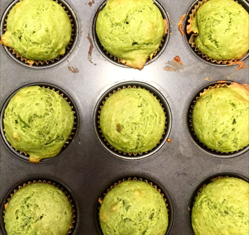 Mean Green Banana Muffins | May Look Little