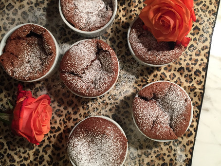 Chocolate Soufflé | Happy Anniversary