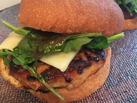 BBQ Chicken Burger