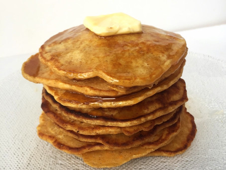 Sweet Potato Pancakes | Use Those Leftovers