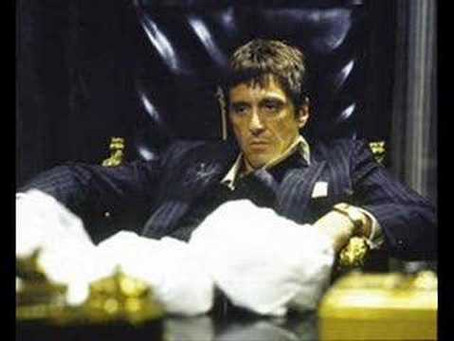 Day 78: Channeling Tony Montana.