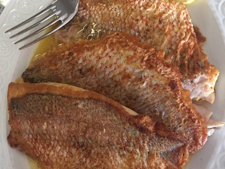 Pan-Fried Snapper in Lemon Butter Sauce | Ocean Reef Dreaming