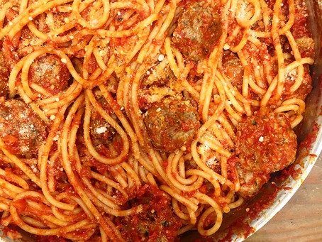 Spaghetti and Meatballs | My Favorite.