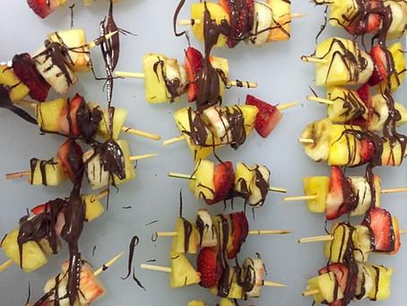 Banana Split Skewers | Healthier Sweet Option