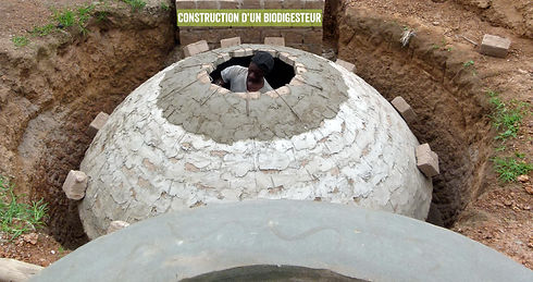 construction of a biodigester