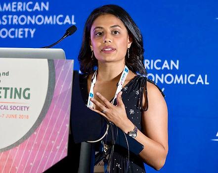 Ekta Patel, astronomy