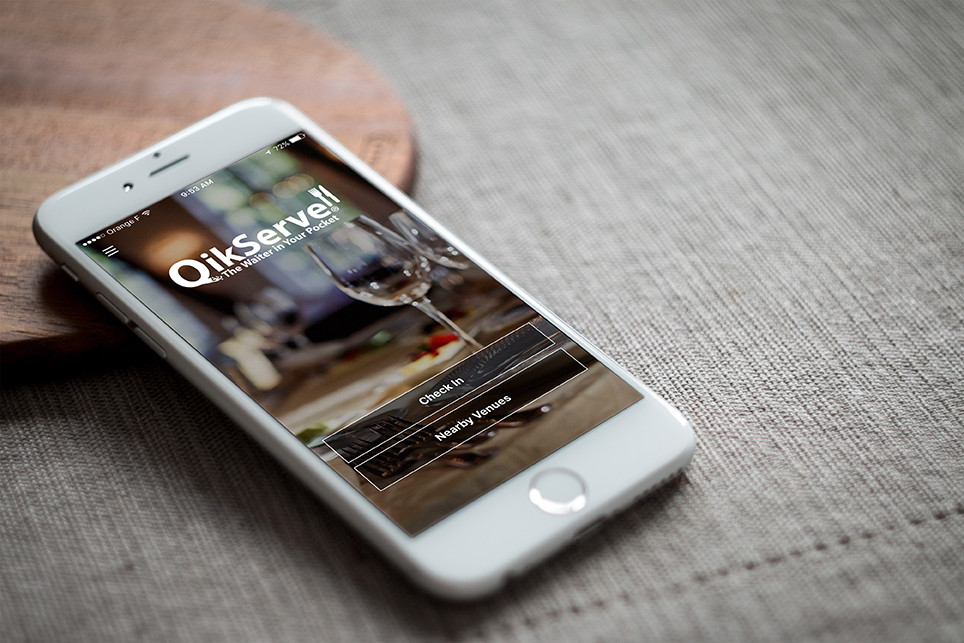 QikServe- The waiter in your pocket