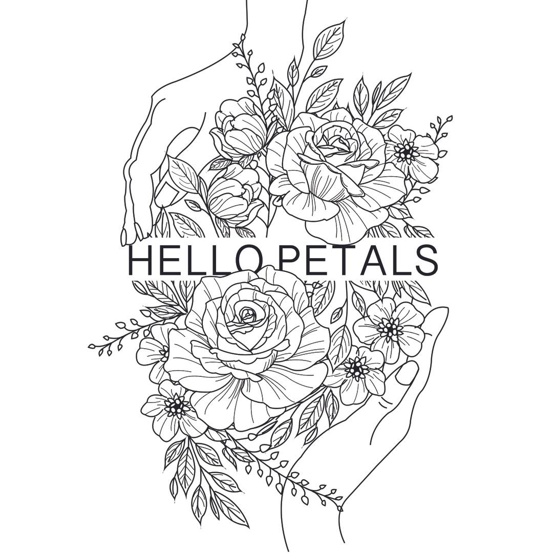 Logo Hello Petals