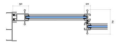 Alumīnija bīdāmie profili