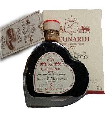 Leonardi Aceto Balsamico 10j. Tiamo Francobollo Castello 5 ori IGP 50ml