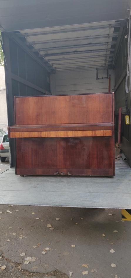 Пренасяне на пиано Варна