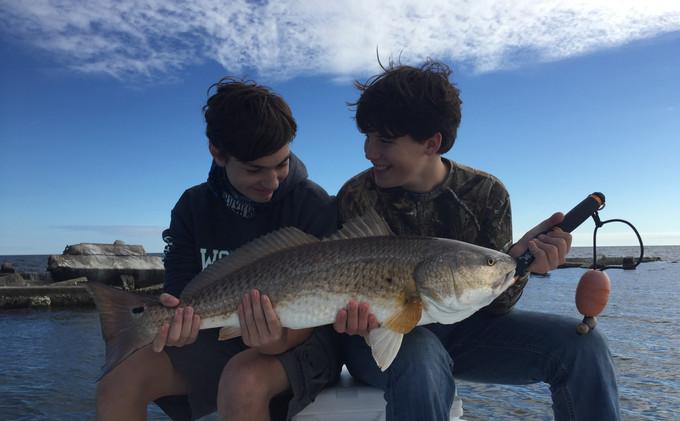 Redfish memories